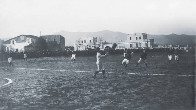 Photo of very early game at Hotel Casanovas