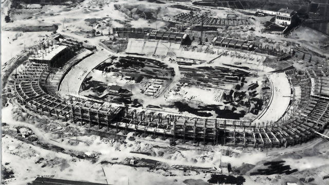 Construction of the Camp Nou