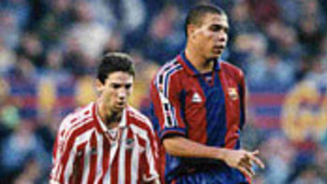Photo of Ronaldo in action against Bilbao