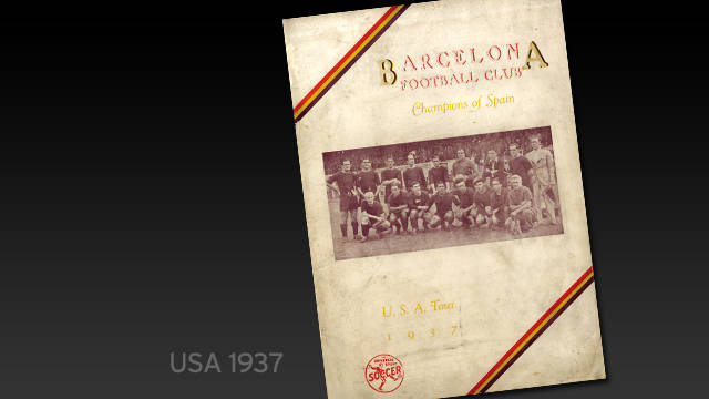 Boletín gira USA (1937)