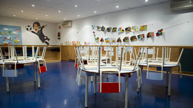 View of the interior of the Kindergarten