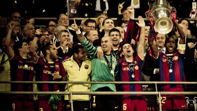 Bara and Guardiola win fourth European Cup at Wembley (2011)