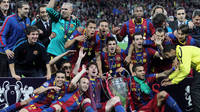 Barça winning their fourth European Cup at Wembley
