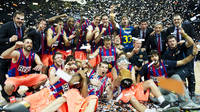 Bara Regal celebrates 2010-2011 Spanish League