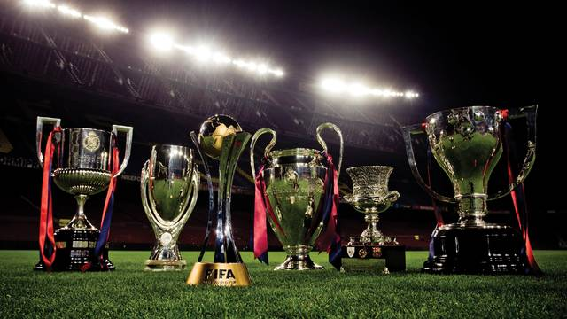 The six cups on the field