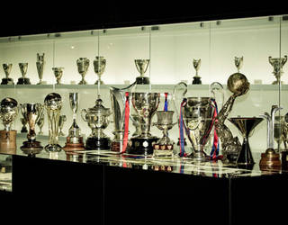 Photo of the Barça trophy cabinet