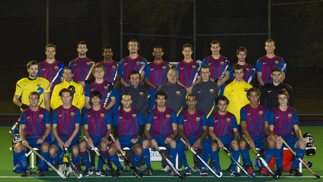 Team FCB 2011/12 (Foto: lex Caparrs - FCB)