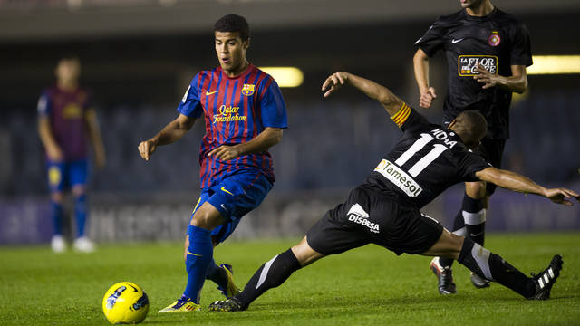 Rafinha, until 2014 / PHOTO: ARXIU FCB