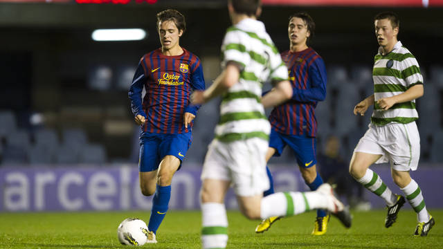 Juvenil A - Celtic Glasgow (5-1) / PHOTO: ÁLEX CAPARRÓS - FCB