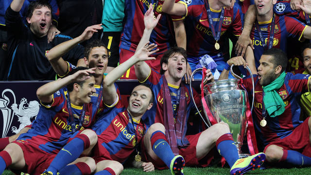FC Barcelona European Champions 2010/11. PHOTO: MIGUEL RUIZ-FCB.