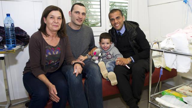 2012-01-05 VISITA HOSPITAL DE NENS DE BARCELONA 095