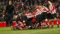 Athletic Club, after qualifying for the final. PHOTO: www.athletic-club.net