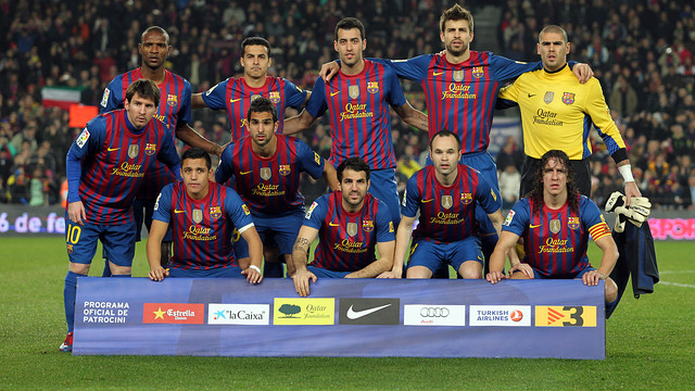 FC Barcelona - Valencia 19/02/2012 / PHOTO: MIGUEL RUIZ - FCB
