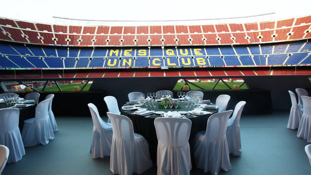 Camp Nou Terrace.