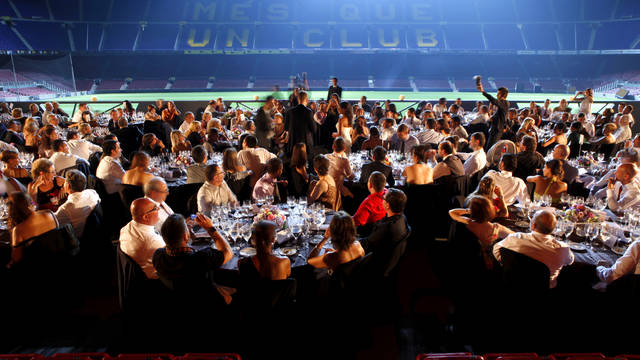 Suppers at the Camp Nou