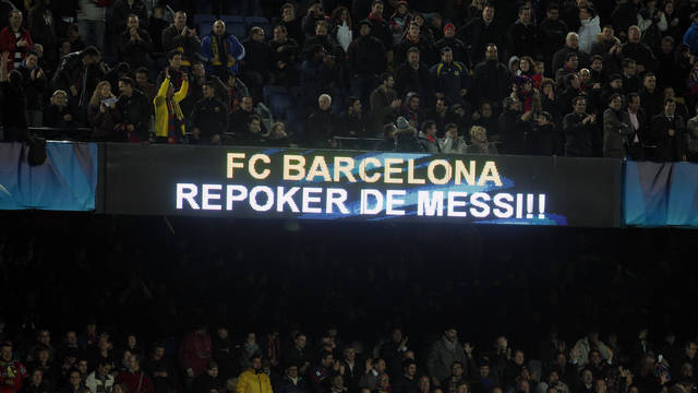 Histric repquer de Messi davant el Lervekusen / FOTO: ARXIU FCB