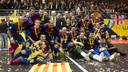 Barça Alusport, champions of the UEFA Futsal Cup / PHOTO: ÁLEX CAPARRÓS - FCB