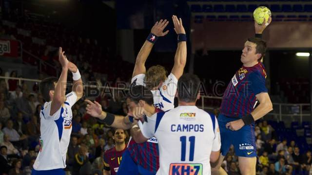 FCB Intersport - Fraikin Granollers (33-23) / PHOTO: LEX CAPARRS - FCB