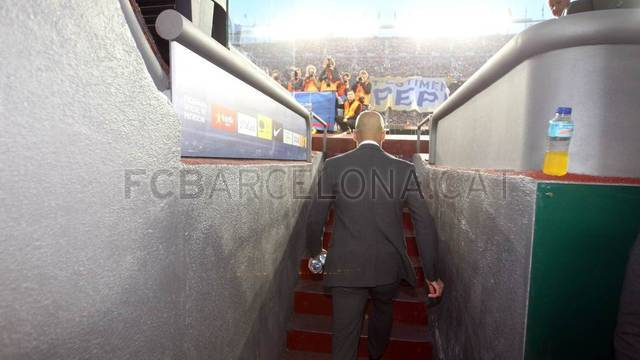 Pep Guardiola's last game at Camp Nou / PHOTO: MIGUEL RUIZ - FCB