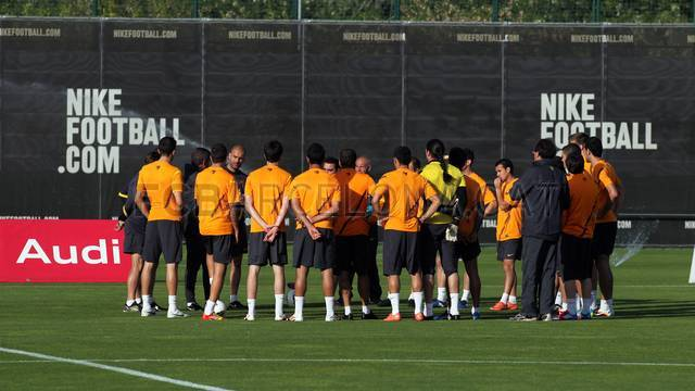 Training session 08/05/12. IMAGE: MIGUEL RUIZ-FCB.