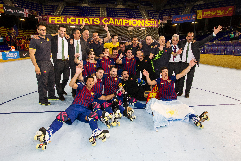El primer equip amb el títol de l'OK Lliga