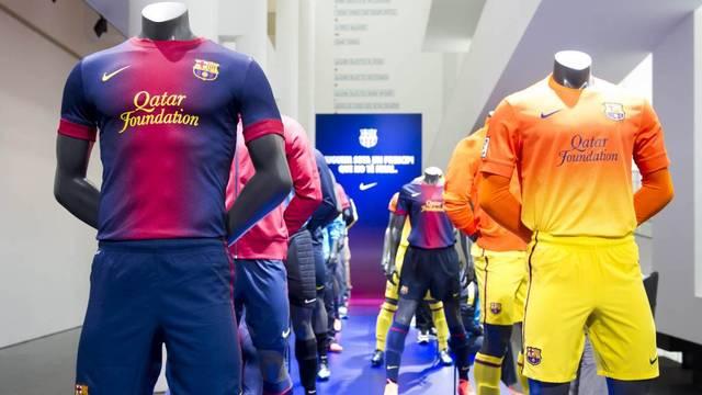Es presenta la nova equipació per a la temporada 2012/13 / FOTO: ÁLEX CAPARRÓS - FCB