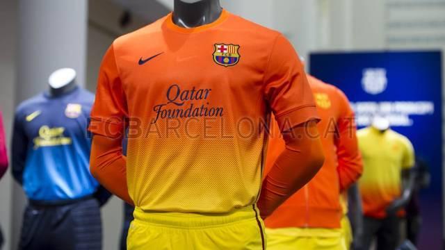 New FC Barcelona shirt for next season