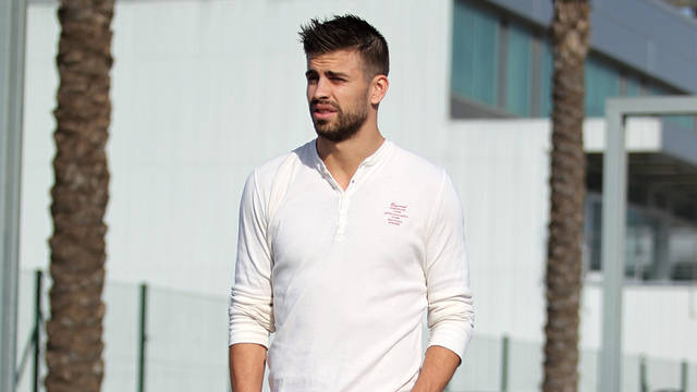 Piqué / PHOTO: ARXIU FCB