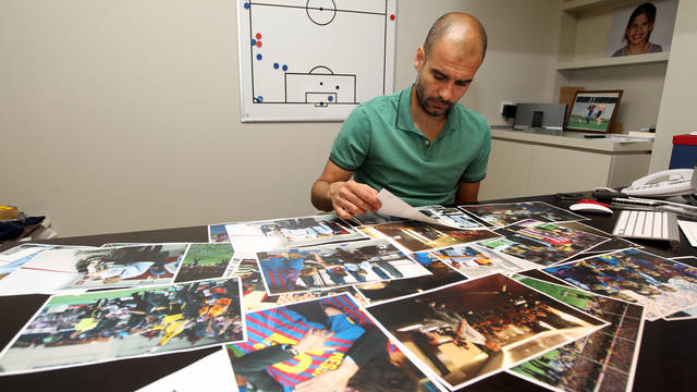 Pep Guardiola. PHOTO: MIGUEL RUIZ-FCB.