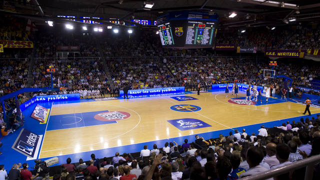 Palau Blaugrana. / PHOTO: LEX CAPARRS - FCB