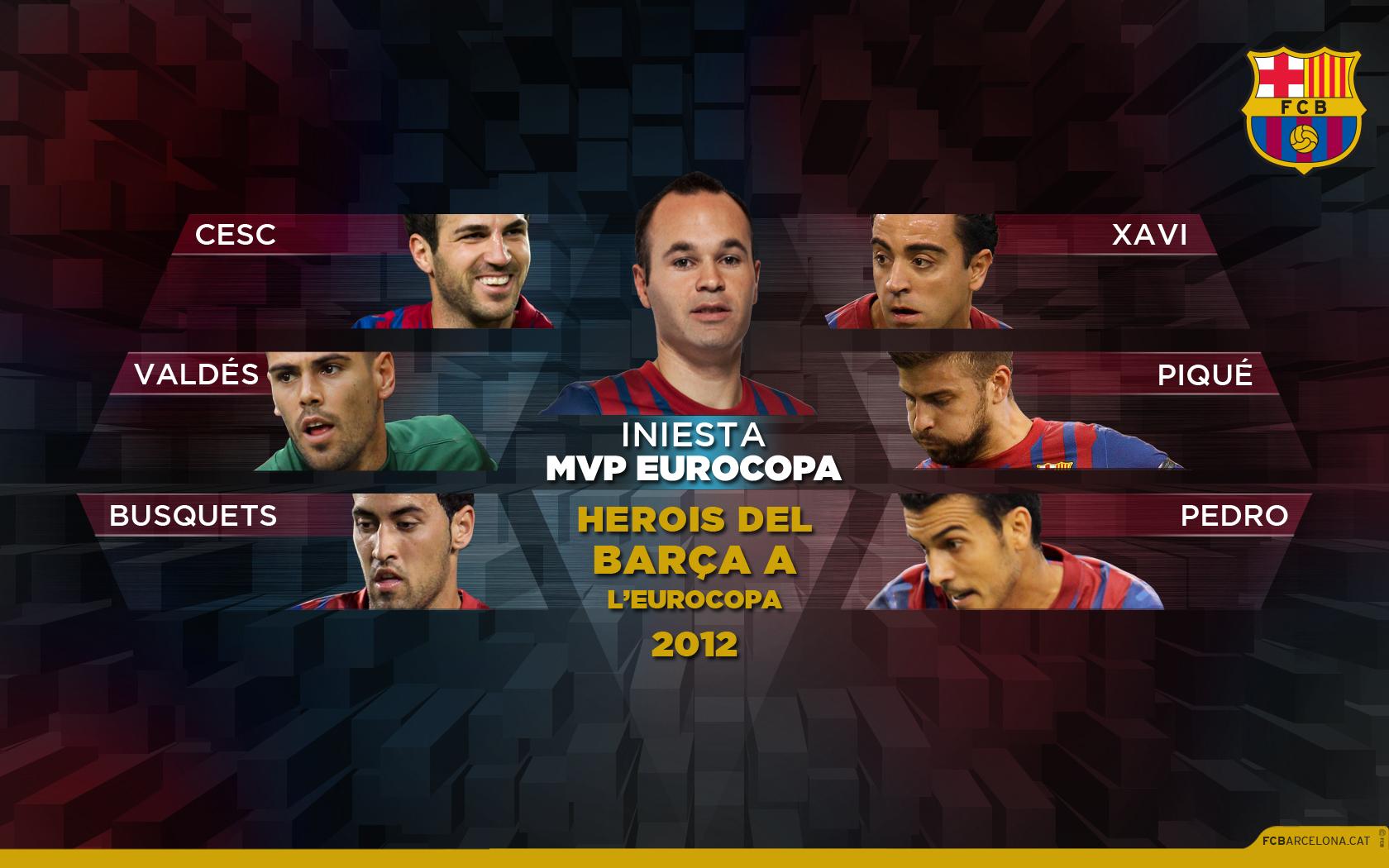 INIESTA MVP EUROCOPA 2012