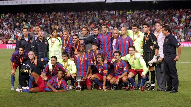 Xavi  a record title winner / PHOTO: Archive FCB