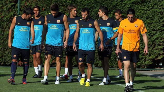 First training session under Tito Vilanova / PHOTO: MIGUEL RUIZ - FCB