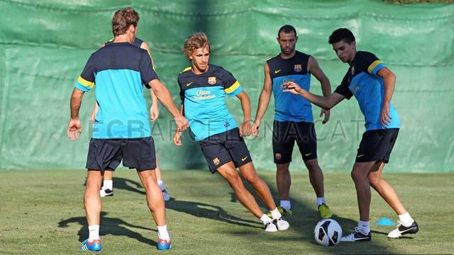 Training session (19h) 18/07/2012 / PHOTO: MIGUEL RUIZ - FCB