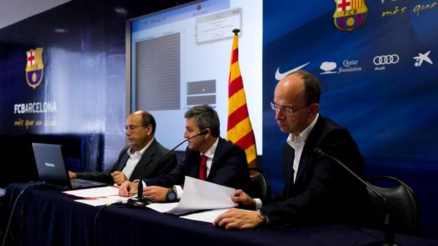 Prize draw for the Llotja Oberta Camp Nou 2012/13