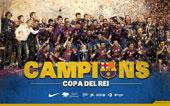 CAMPIONS · COPA DEL REI 2012
