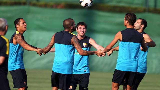 Barça players / PHOTO: MIGUEL RUIZ - FCB