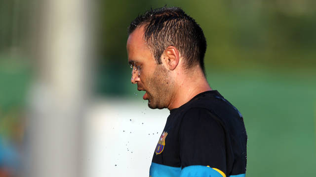 Iniesta / PHOTO: MIGUEL RUIZ - FCB