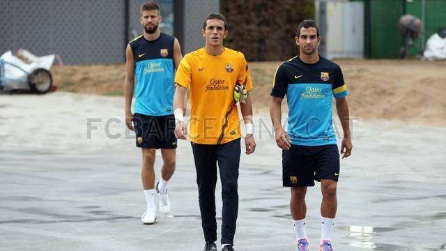Training session 06/08/2012 / PHOTO: MIGUEL RUIZ - FCB
