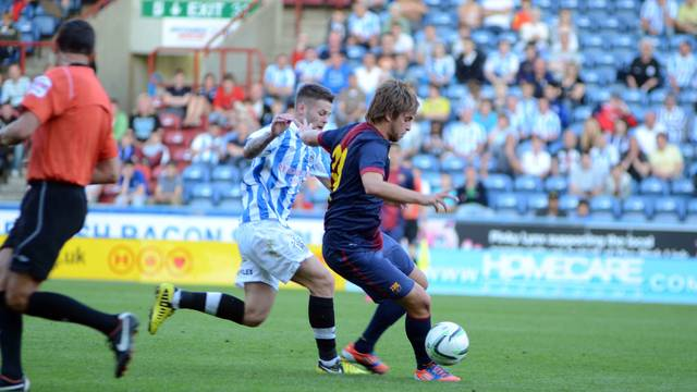 Miguel Ángel. PHOTO: Huddersfield.