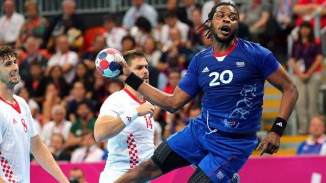 Sorhaindo playing for France in the Olympics