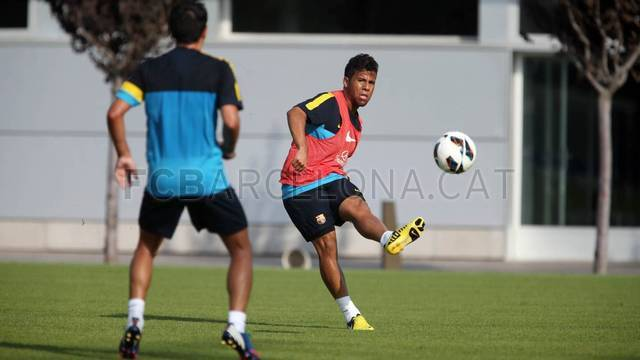 Training session 15/08/12 / PHOTO: MIGUEL RUIZ - FCB