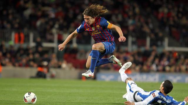 Cales Puyol in last year's match against Real Sociedad/ Photo - Miguel Ruiz - FCB
