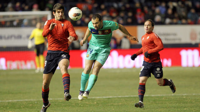 Barça return to Pamplona on Sunday. PHOTO: ARXIU / FCB