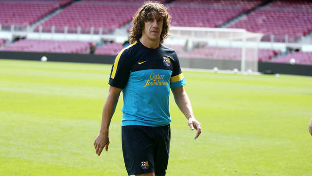 Carles Puyol / PHOTO: MIGUEL RUIZ - FCB