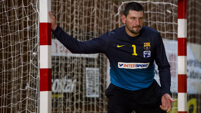 Arpad Sterbik / PHOTO: LEX CAPARRS - FCB.