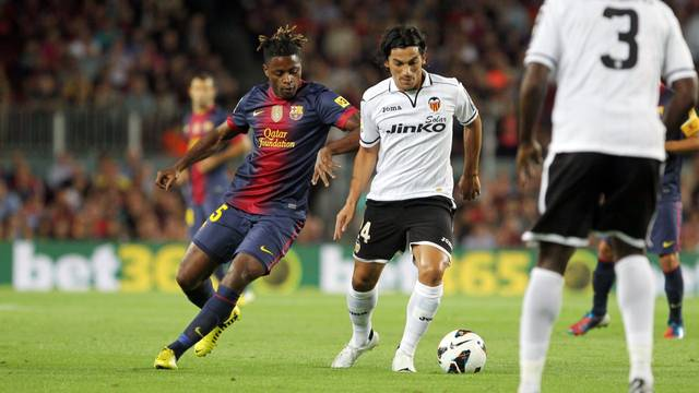 Alex Song |  PHOTO: ARXIU / FCB