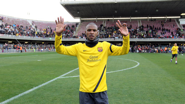 Abidal / PHOTO: ARXIU FCB