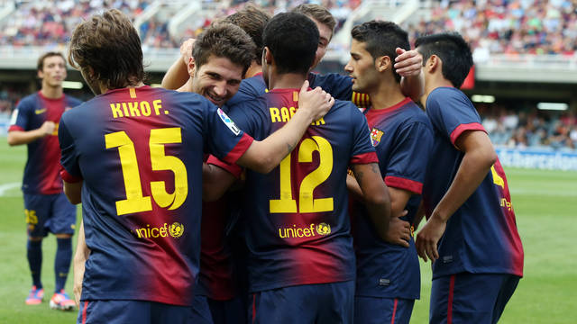 Penyes to give their support to Barça B once again