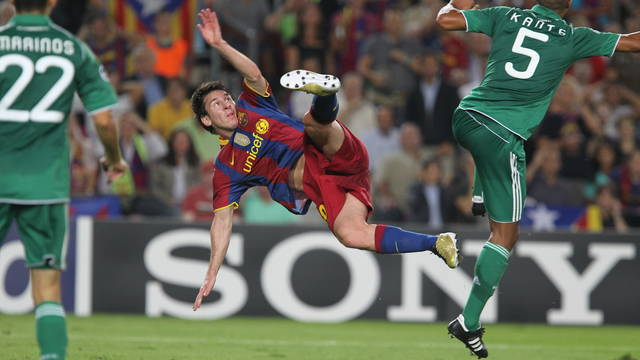 Lionel Messi / PHOTO: ARXIU FCB